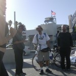 Ron Paul Rider begins in Santa Monica, Oct. '07