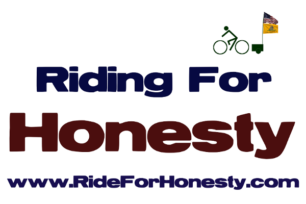 Sign for Ride For Honesty